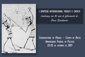 I Simpósio Internacional Música e Crítica Pelotas