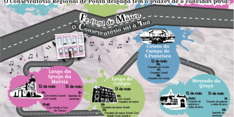 """II edição do Festival de Música """"O Conservatório sai à rua"""""""