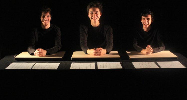 Na fotografia, o Merak Trio, grupo formado em Julho de 2017, constituído por António Machado, Francisco Cipriano e Pedro Tavares, alunos da Escola Superior de Música de Lisboa.